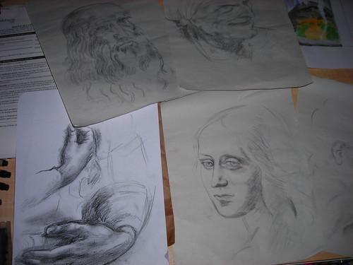 Practice copying DaVinci
