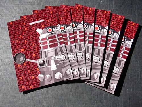 Dalek postcards