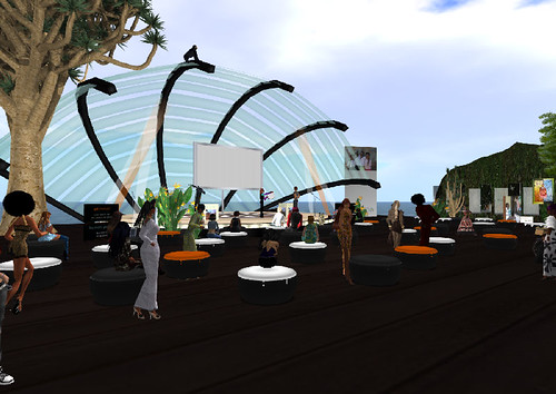 Stacey Fox performs for Virtual Africa