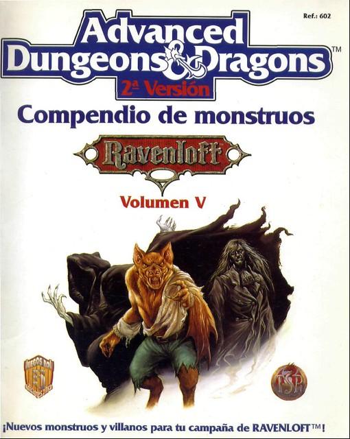 Compendio de Monstruos vol. V