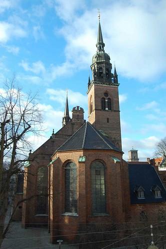 Church of the Holy Spirit. Helligåndskirken. Copenhagen. København