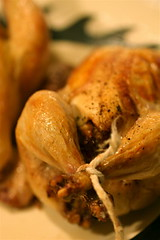 Game Hens with Cranberry-Mustard Stuffing 2