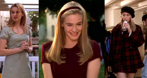 Celeb vegan Alicia Silverstone as Cher Horowitz in Clueless
