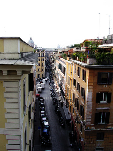 View from West of the Spanish Steps - 2