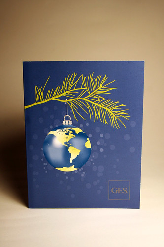 GES Company Christmas Card Front
