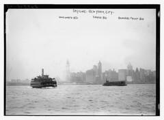 Skyline - N.Y.C.: Woolworth Bldg., Singer Bldg...