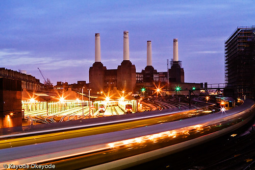 Battersea Power Station at Twilight