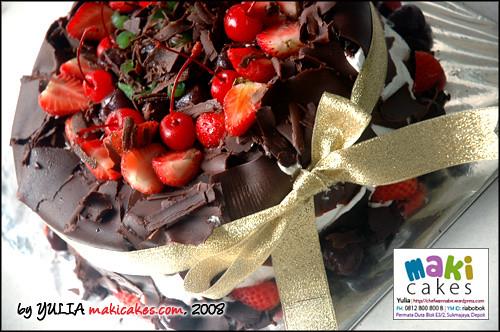 Blackforest Maki Cakes