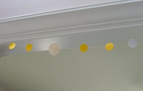 paper dot garland