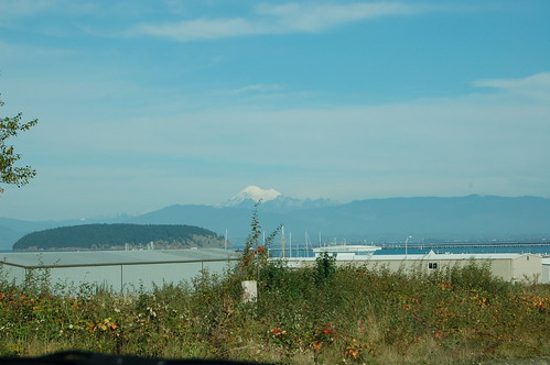 View of Mt. Baker from Anacortes WA
