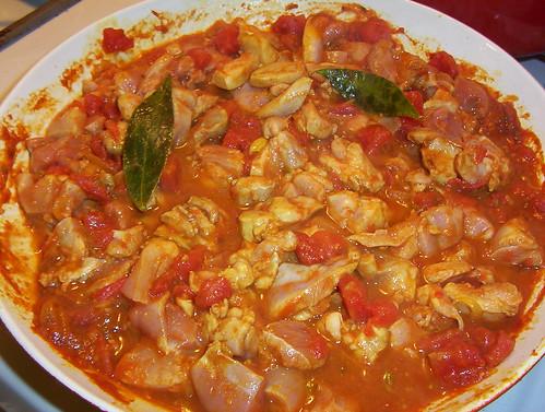 black pepper chicken curry