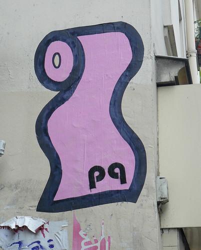 toilet paper graffitti