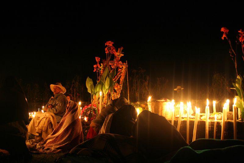 D�a de muertos en Patzcuaro