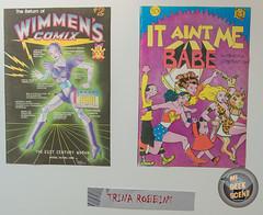 MSU Comics Forum 2017 20 Artwork ©Trina Robbins
