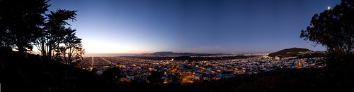 Grand View Park At Dusk by MumbleyJoe