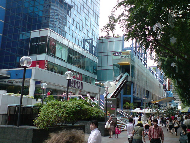 Orchard road shopping mall