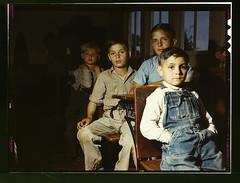 Rural school children, San Augustine County, Texas (LOC)