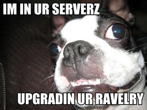 I'm in ur servers.