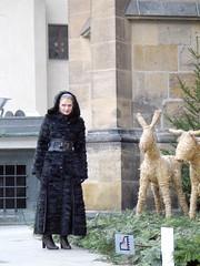 En el Castillo de Praga