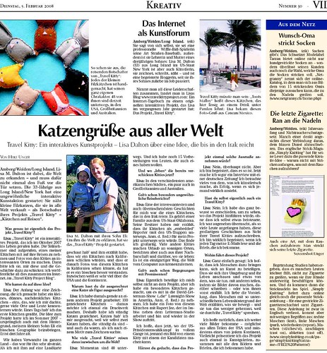 German Newpaper Article