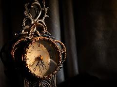 Evening Clock Face