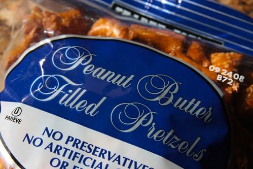 Trader Joes Peanut Butter Filled Pretzels