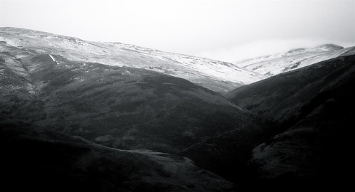 Snow-Dusted Ochils