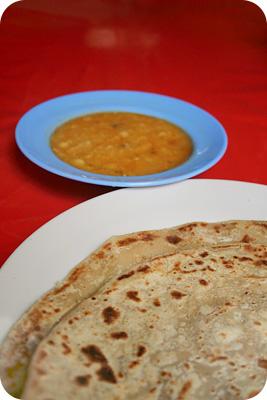 Paratha & dhal