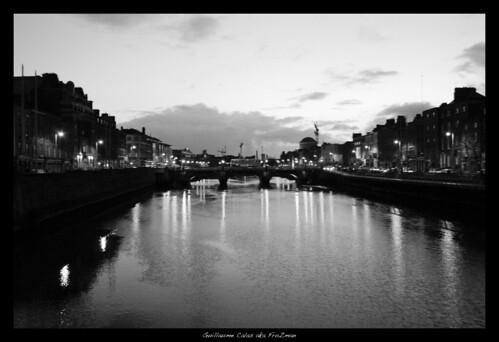 Crépuscule sur Dublin