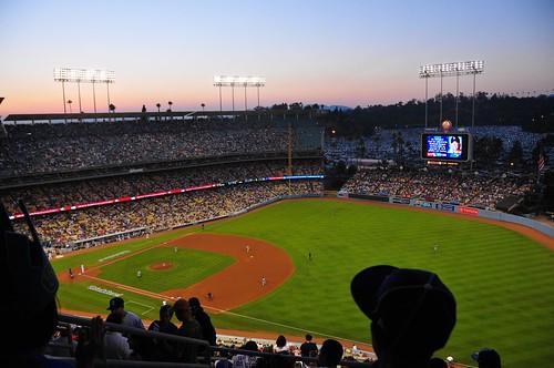 Dodger Stadium - Dodgers vs. Brewers