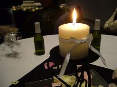 The table centerpieces, Farmer wedding