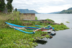 Lake Toba Boat by Ben Peters