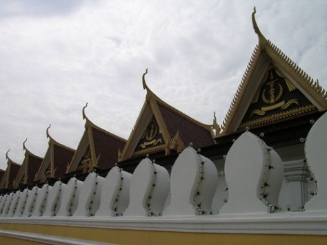 Wall around the Silver Pagoda
