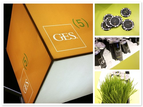 GES Event Set-up Photography