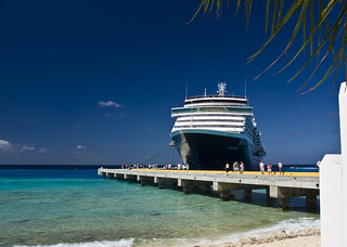 Westerdam docked at Grand Turk