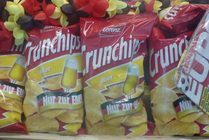 Bierchips von Crunchips