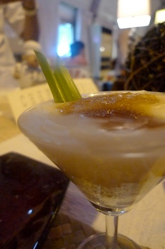 Buko Pie martini @ Chef's Table