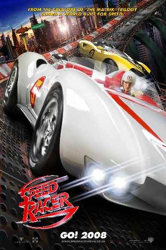 Hızlı Yarışcı Speed Racer Afişi
