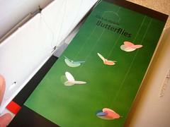 北欧デンマーク フレンステッド社製の手作りモビール「バタフライ」説明書表紙