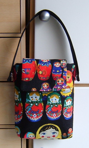 Matryoshka russian dolls little bag for ipod/mobile phone/pda