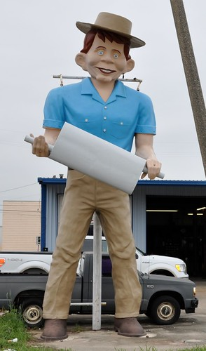 "Muffler Man ""Happy Half-Wit"""