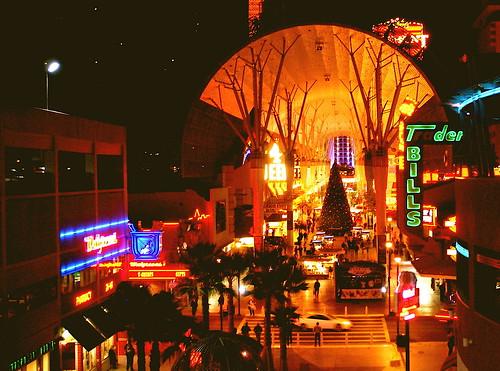 Fremont Street at Christmastime