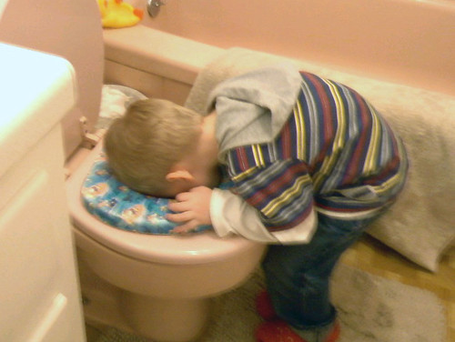 """How's his potty training going?"" &q..."