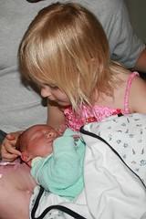Annie with Jesse