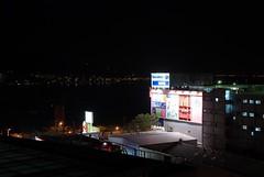 從宿舍往外看的夜景