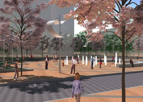 Columbia Heights Civic Plaza Plan