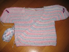 14-08 Baby Surplice 2nd in progress