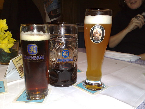 Lowenbrau beer selection