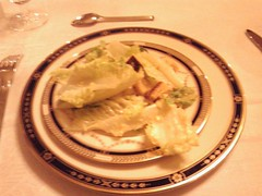 Caesar Salad with Real Bread Croutons