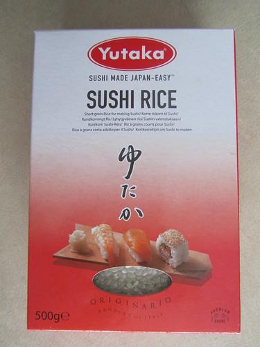 """Sushi rice"" (aka sticky rice)"